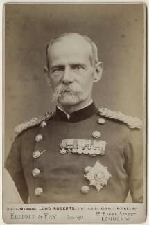 Frederick Sleigh Roberts, 1st Earl Roberts, by Elliott & Fry - NPG x127945