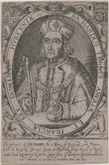 King Richard III, probably by Renold or Reginold Elstrack (Elstracke), after  Unknown artist - NPG D21255