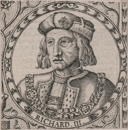 King Richard III, by Jodocus Hondius, after  Unknown artist, published 1611 - NPG D21257 - © National Portrait Gallery, London