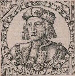 King Richard III, by Jodocus Hondius, after  Unknown artist - NPG D21257