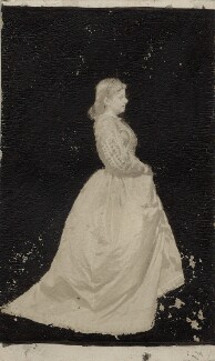 Mary Ellen Edwards (later Mrs Freer, later Mrs Staples), by Unknown photographer - NPG Ax14903