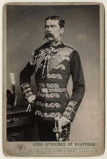 Herbert Kitchener, 1st Earl Kitchener, by Alexander Bassano - NPG x127981