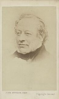 Sir Charles Barry, by John Watkins,  - NPG Ax9207 - © National Portrait Gallery, London