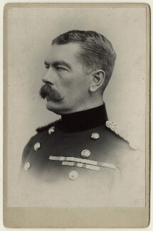 Herbert Kitchener, 1st Earl Kitchener, by Alexander Bassano - NPG x127987