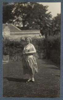 Junia von Anrep (née Yuniya Khitrovo), by Lady Ottoline Morrell, July 1926 - NPG Ax142606 - © National Portrait Gallery, London