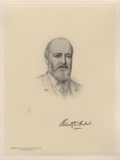 Sir Robert George Wyndham Herbert, after Henry Tanworth Wells - NPG D20742