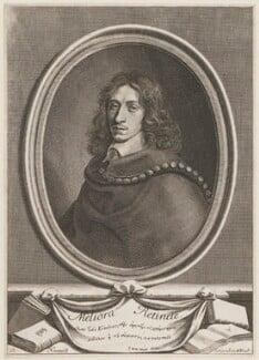John Evelyn, by Robert Nanteuil, 1650 - NPG D21269 - © National Portrait Gallery, London