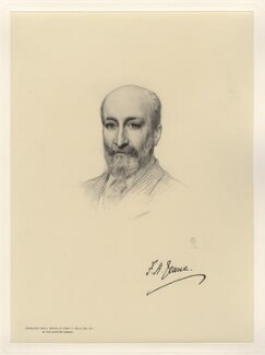 Francis Henry Jeune, Baron St Helier, after Henry Tanworth Wells - NPG D20750