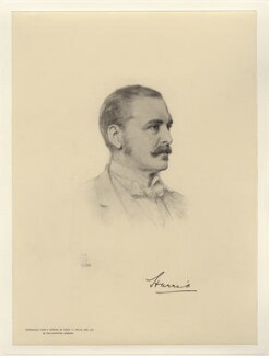 George Robert Canning Harris, 4th Baron Harris, after Henry Tanworth Wells - NPG D20752