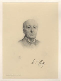 William Court Gully, 1st Viscount Selby, after Henry Tanworth Wells - NPG D20755