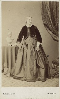Mary Thornycroft (née Francis), by Maull & Co, after  Maull & Polyblank, (29 December 1864) - NPG Ax14939 - © National Portrait Gallery, London