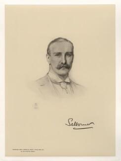 William Waldegrave Palmer, 2nd Earl of Selborne, after Henry Tanworth Wells - NPG D20759