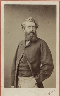 Henry Wyndham Phillips, by Nadar - NPG Ax14944