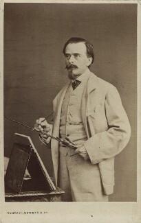 (Johann) Carl Haag, by Cundall, Downes & Co - NPG Ax14970