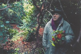 Patrick Heron in The Camellia Garden at Eagles Nest, by Susanna Heron - NPG P710