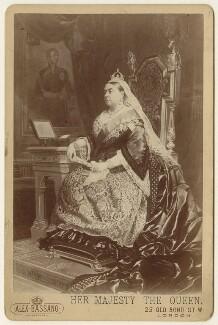 Queen Victoria, by Alexander Bassano - NPG x127989