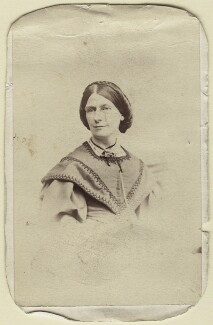 Emma Sophia Oliver (née Eburne), by Unknown photographer - NPG Ax14985