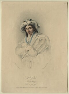 Edmund Kean as Richard III, by and published by Charles Turner, after  John James Halls - NPG D21261