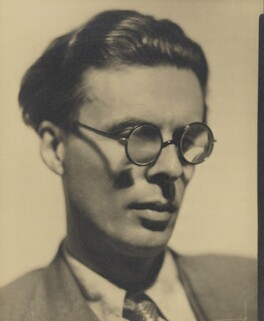 Aldous Huxley, by Howard Coster, 1934 - NPG  - © National Portrait Gallery, London