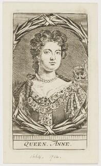 Queen Anne, after Sir Godfrey Kneller, Bt - NPG D21273