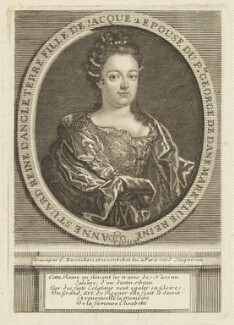 Queen Anne, by Étienne Jehandier Desrochers, after  Unknown artist - NPG D21274