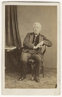 George William Frederick Howard, 7th Earl of Carlisle, by Thomas Cranfield, early-mid 1860s - NPG x5634 - © National Portrait Gallery, London