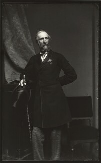 Sir David Baird, 3rd Bt, by Alexander Bassano, early 1870s - NPG x127992 - © National Portrait Gallery, London