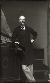 Sir David Baird, 3rd Bt, by Alexander Bassano, early 1870s - NPG x127994 - © National Portrait Gallery, London