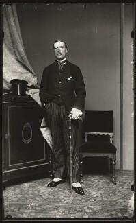 Robert Curzon, 15th Baron Zouche, by Alexander Bassano - NPG x127996
