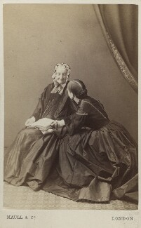 Miss Bayley and an unknown woman, by Maull & Co - NPG Ax5059