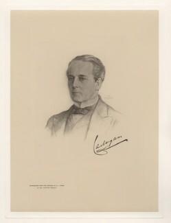 George Henry Cadogan, 5th Earl Cadogan, after Henry John Stock - NPG D20771