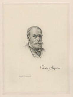 Sir Edward John Poynter, 1st Bt, after Sir Edward John Poynter, 1st Bt - NPG D20780