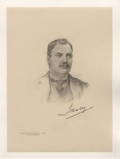 Edward George Villiers Stanley, 17th Earl of Derby, after Henry John Stock - NPG D20784