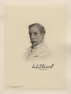 Sir Herbert Eustace Maxwell, 7th Bt, after Alfred U. Soord - NPG D20785