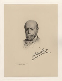 William Hillier Onslow, 4th Earl of Onslow, by The Autotype Company, after  Henry James Haley - NPG D20790