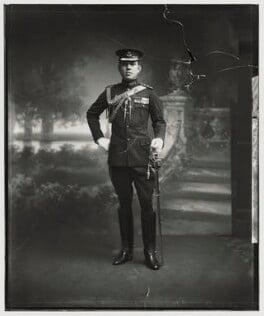 Sir Ibrahim, Sultan of Johore, by Vandyk - NPG x128040