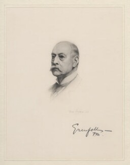 Francis Wallace Grenfell, 1st Baron Grenfell, after Frank Dicksee - NPG D20799