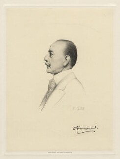 Lewis Harcourt, 1st Viscount Harcourt, by Henry Dixon & Son, after  Frank Dicksee, (1917) - NPG D20800 - © National Portrait Gallery, London