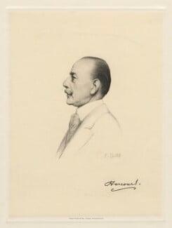 Lewis Harcourt, 1st Viscount Harcourt, by Henry Dixon & Son, after  Sir Francis Bernard ('Frank') Dicksee, (1917) - NPG D20800 - © National Portrait Gallery, London