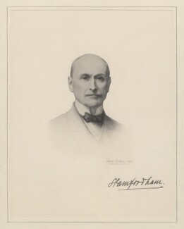 Arthur John Bigge, Baron Stamfordham, after Frank Dicksee - NPG D20802