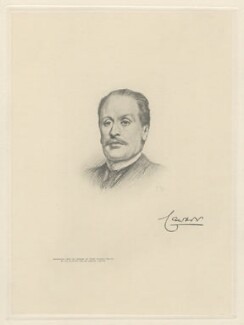Frederick Campbell, 3rd Earl Cawdor, by The Autotype Company, after  Frank Dicksee - NPG D20804