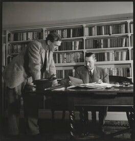 Graham Greene; Douglas Francis Jerrold, by John Gay, published November 1947 - NPG x127763 - © National Portrait Gallery, London