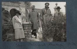Maria Huxley (née Nys); Julian Vinogradoff (née Morrell); Basil de Sélincourt; Aldous Huxley; Philip Edward Morrell, by Lady Ottoline Morrell - NPG Ax142786