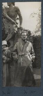 Maria Huxley (née Nys); Aldous Huxley, by Lady Ottoline Morrell - NPG Ax142791