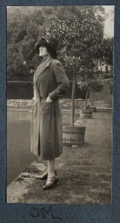 Lady Ottoline Morrell, by Lady Ottoline Morrell - NPG Ax142796