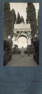 Princess Chigi; Goldsworthy Lowes Dickinson, by Lady Ottoline Morrell - NPG Ax142838