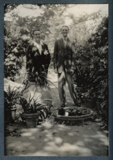 Guglielmo Degli Alberti; Umberto Di Lauriano Morra, by Lady Ottoline Morrell, late 1927 - NPG Ax142863 - © National Portrait Gallery, London
