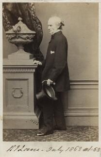 Richard James Lane, by John Jabez Edwin Mayall - NPG Ax17135