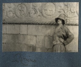 Lady Ottoline Morrell, by Philip Edward Morrell - NPG Ax142882
