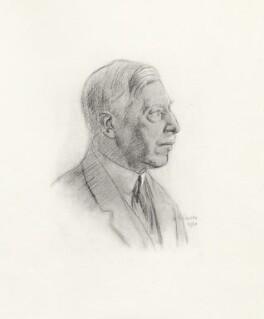 Thomas Wodehouse Legh, 2nd Baron Newton, after Randolph Schwabe - NPG D20812